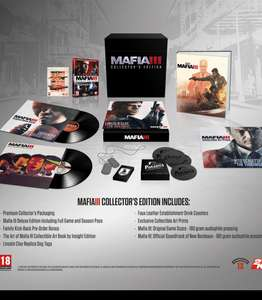 Mafia 3 Collectors Edition (PS4/Xbox One) ONLY £34.99 Originally £150 Pro/X Enhanced! (ONLINE @ Game)