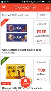 Ooola Desert free @ Tesco via Checkoutsmart