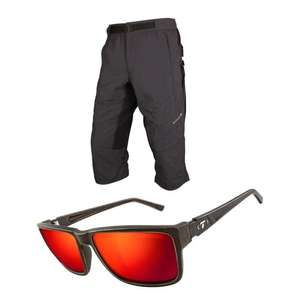 Endura Hummvee 3/4 Length Baggy Cycling Shorts £27.99 delivered / Tifosi Eyewear Hagen XL £19.99 delivered  @ Tredz