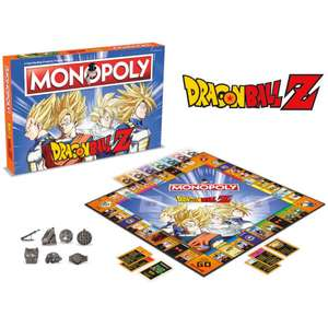 Dragon Ball Z Monopoly £21.99 @ Zavvi