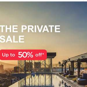 Up to 50% private sale on Accor Hotels