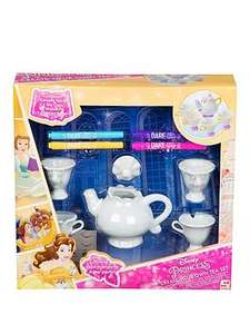 Very Colour Your Own Mrs Pots and Chip Tea Set £4.99 @ Very - Free c&c