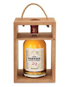 Glen Marnoch 29 year old Single Malt Scotch Whisky 70cl £39.99 in-store @ Aldi