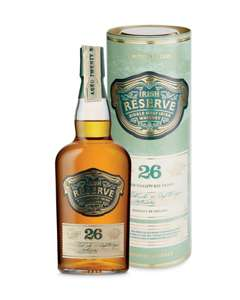 26 Year Old Single Malt Irish Whiskey 70cl £39.99 online in-store @ Aldi