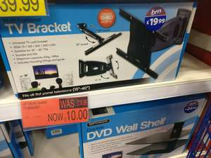 "15"" - 40"" TV bracket B&M £9.99 reduced from £19.99"