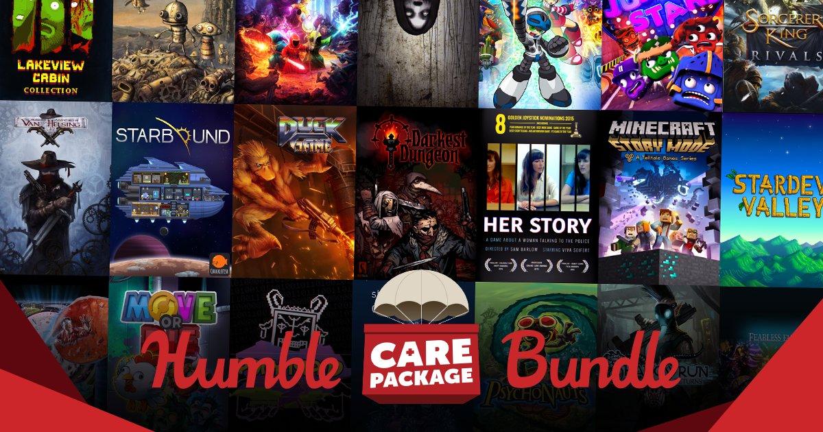 Care Package Bundle - £22.91 - Humble Bundle