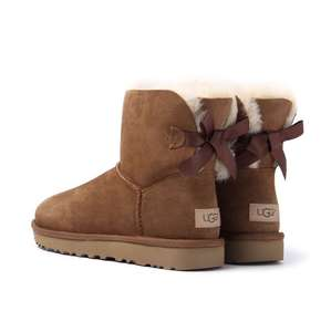 Ugg Women's Bailey Bow II Sheepskin Boots £110.25 with code @ Cloggs