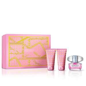 Versace bright crystal gift set at Debenhams for £27.50