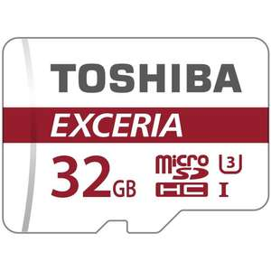 Toshiba 32GB Micro SD Card at Halfords for £11.19