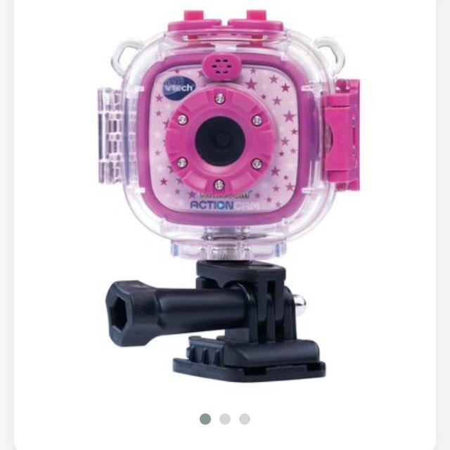 Smyths Vtech Kidizoom action cam £24.99 half price