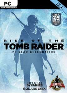 Rise of the Tomb Raider 20 Year Celebration Pack DLC (Steam) £2.99 @ CDKeys