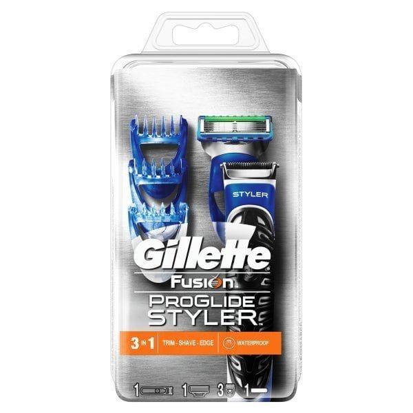 GILETTE FUSION PROGLIDE 3IN1 STYLER £13.00 @ ASDA
