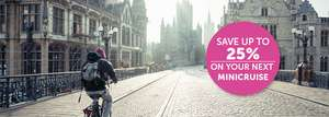 Take a Minicruise to from Hull from as low as £30 P.P. at P&O