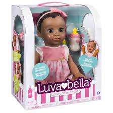 Luvabella Dark Brown Hair Doll instore at Argos for £99.99