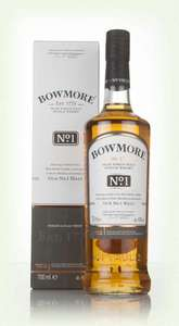 Bowmore No 1 first fill bourbon cask Islay single malt whisky £25 @ tesco