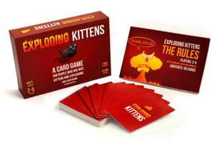 Exploding Kittens Card Game £4.36 @ Zapals
