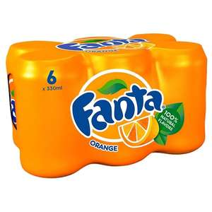 FANTA 6x330ML HALF PRICE £1.77 @ TESCO