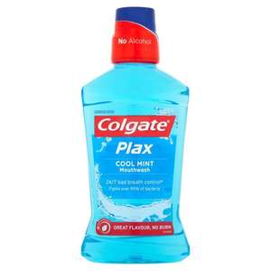 COLGATE PLAX 500ML HALF PRICE £1.75 @ WAITROSE