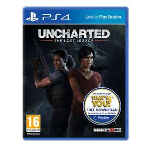 Uncharted: The Lost Legacy (PS4) £19.99 @ Smyths