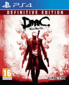 Devil may cry definitive edition ps4 £10.65 GAME