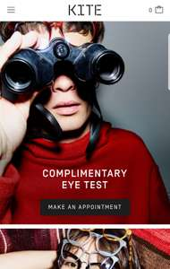Free eye test @ KITE Opticians in Shoreditch - Launching on 17th November