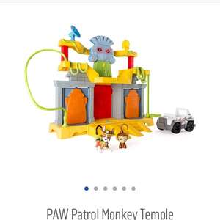 Paw patrol monkey temple £12.49 argos