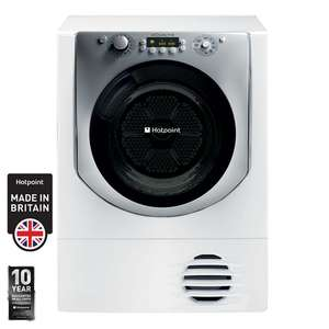 Hotpoint 9 kg B Rating Condenser Dryer AQC9 BF7 E1 £279.99 Costco