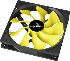 Akasa  14 cm Viper High Performance S-Flow Fan, £9.95 Amazon/prime (£12.94 non prime)