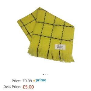 Bring the bear out of you with this Rupert The Bear Style Scarf 100% Pure Wool Made In Scotland £5 Sold by Scotch Tweed and Fulfilled by Amazon - lightning deal