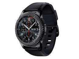 Samsung Gear S3 SM-R760 Frontier Bluetooth Smart Watch - Black @ eGlobal central UK (poss 2.6% TCB or 2% + £2.50 Quidco) with FREE delivery
