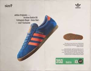 Adidas Dublin og trainers reissue Friday exclusive @ size? (Jd sport group)