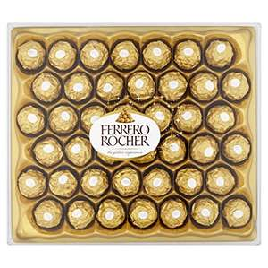 Ferrero Rocher, 42 Pieces, 525g £6.50  (Prime) / £11.25 (non Prime)  @ Dispatched from and sold by Amazon