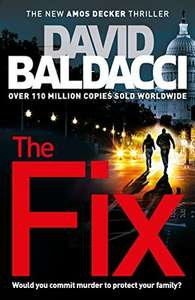 The Fix David by Baldacci £3 at Tesco