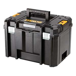 Dewalt TSTAK Deep Tool Box, Yellow/Black £24.99 Amazon