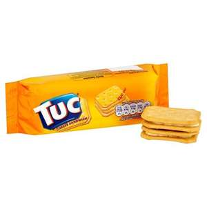 TUC CHEESE SANDWICH HALF PRICE 64P @ TESCO