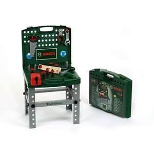 Bosch Tool Shop, Foldable Workbench With Accessories - £24 @ Debenhams