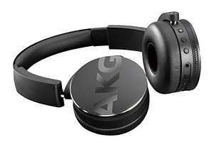 AKG Y50BT Portable Foldable On-Ear Rechargeable Bluetooth Headphones - Black @ Amazon - £89.99