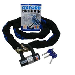 Oxford HD Heavy Duty 1.5m Chain & Lock - £25.64 with code @ Ghost Bikes