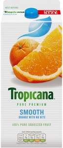 Tropicana Orange & Mango Juice (1.60L) was £3.49 now £2.00 (Rollback Deal) @ Asda