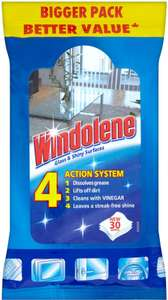 Windolene Window Cleaner 4 ACTION Glass & Shiny Surfaces (500ml) was £1.50 now £1.00 (Rollback Deal) @ Asda