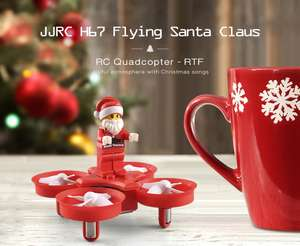 JJRC H67 Flying Santa Claus RC Quadcopter £6.56 Delivered using code @ Gearbest