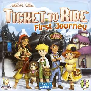 Ticket to Ride First Journey - Europe Edition £19.79 @ 365games (using 10% off code)