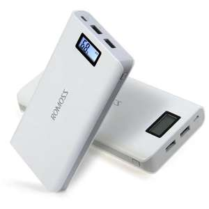 ROMOSS Sense 6 Plus LCD 20000mAh External Battery Pack Power Bank £16.80 Delivered @ Gearbest
