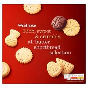Waitrose all butter shortbread selection 450g £1.60 with PYO