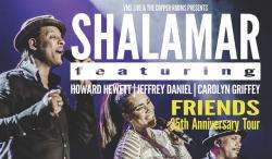 Shalamar tickets £2 each for tomorrow night in Salisbury @ SFF