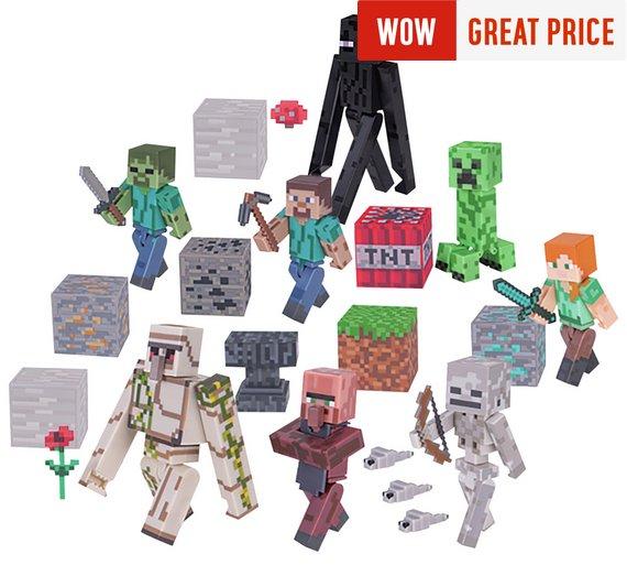 Minecraft Deluxe Overworld Pack - £23.99 @ Argos + Code