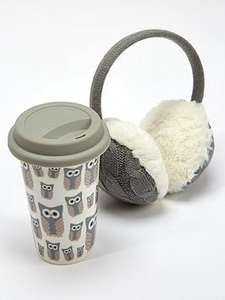 Snowy Owl Warm & Snug Travel Mug & Ear Muff Set (was £14.99) Now £8.99 at Very (links in the post)