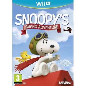 Snoopy's Grand Adventure (Wii U) New £12.70 delivered @ evergame.co.uk