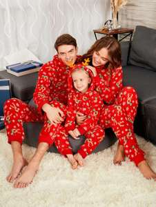 Rudolph Matching Christmas Pyjamas for the entire family £7.00 delivered each using code at Rosegal