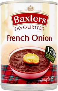 Baxters Favourites Lentil & Bacon Soup (400g) was £1.07 now 5 cans for ONLY £3.00 @ Asda